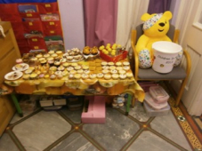 Yummy cakes for Children in Need!