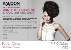 Win a FULL HEAD of Racoon Hair Extensions From Part One
