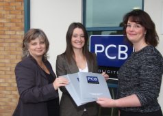 Legal duo celebrates 1st Anniversary at local Law firm PCB Solicitors