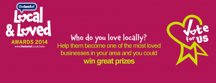And the winner of the 2014 Local & Loved Awards is.....