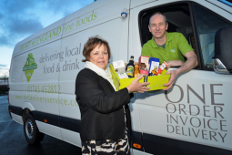 New food delivery service in Shrewsbury