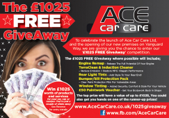 Shropshire Car Care centre is giving away £1000 in tuning and styling