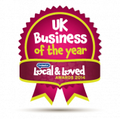 Local fish and chip shop in Farnborough shop wins Local and Loved National Award 2014