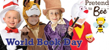 Dress up for World Book Day 2014 with costumes from Fancy That, Bolton