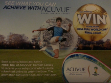 Win a trip to the 2014 FIFA WORLD CUP FINAL in Brazil