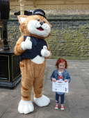 Purrfect Launch for East Lancashire Railway's Kids' Club