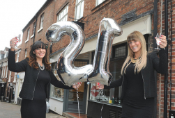 Shrewsbury Nail Salon celebrates 21st