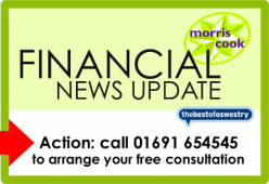Financial Update from Morris Cook Chartered Accountants - September 2014