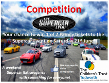Competition - Your Chance to Win One of Two Family Tickets to The Supercar Event