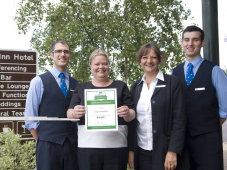 It's official – local hotel provides consistently excellent service!