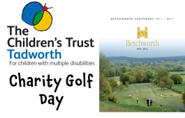 Your Invitation to charity golf day for The Children's Trust @childrens_trust @betchworthpark
