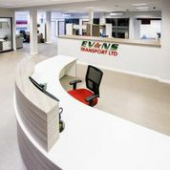 Head Office Makeover for North Devon's Evans Transport Completed On Time and On Budget!