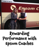 A rewarding performance from Angie at Epsom Coaches @epsomcoachesgro