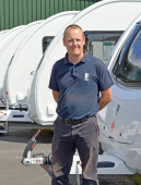Firefighter joins customer care team at Shropshire caravan dealership