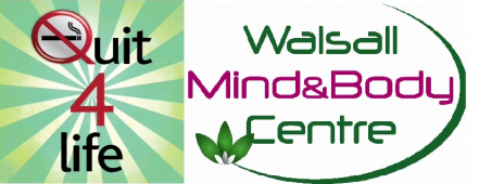 How can Walsall MindandBody Centres Quit4life service help local smokers?
