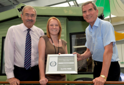 Shrewsbury Caravan dealership Salop Leisure becomes first Silver Member of Severn Hospice