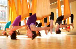 Aerial Yoga comes to Bikram Yoga Brighton