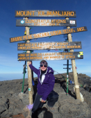 Wanderlust takes Salop Leisure employee to the top of Africa's highest mountain