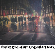 Charles Rowbotham original oil painting - 10th Anniversary prize with @PersonalAgentUK #epsom @RowbothamArtist