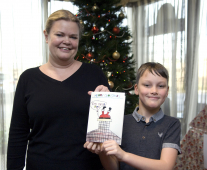 Humour wins the day in hotel's Christmas card competition