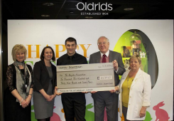 Oldrids & Downtown raise over £10,000 for Charity
