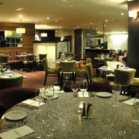 Aqua Restaurant Menu Croydon