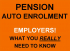 Employers - don't be caught out by new pension rules