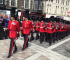 The Welsh Guards March Through Pontypridd