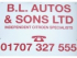 BL Auto's & Sons Ltd