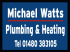 Michael Watts Plumbing & Heating