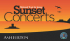The National Trust Sunset Concerts for 2013