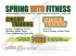Spring Into Fitness - Circuit Training