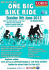 One Big Bike Ride 2013