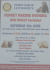 Ferret Racing Evening - Hog Roast Included