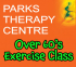 OVER 60's EXERCISE CLASS WITH CHARTERED PHYSIOTHERAPIST