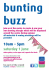 Bunting Buzz at The Galleries
