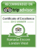 Tripadvisor Certificate of Excellence for Ramada Encore London West
