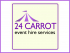 24 CARROT Event Hire Services