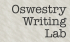 MEET: Oswestry Writing Lab (OWL)