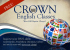 Crown English Classes