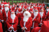 St Raphaels' Santa Dash on Wimbledon Common