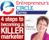 '4 Steps to becoming a Killer Marketer' with Entrepreneur's Circle @vanessalanham