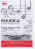 Boudica. A concert of new music for an old tale