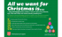Irvine charity shop launches festive campaign