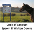 Code of Conduct introduced for Epsom & Walton Downs  @epsomewellbc