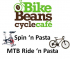Spin 'n Pasta or Ride 'n Pasta at Bike Beans Cycle Cafe in Ashtead @bikebeanscafe