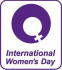 International Women's Day Purple Ball