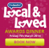 Local and Loved Awards Dinner