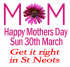 Mothers Day 2014 - Gifts, flowers and where to eat in the St Neots area