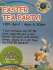 Easter Tea Party at Planet Happy